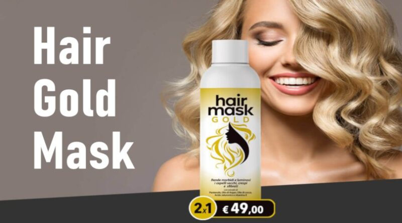 hair gold mask recensione